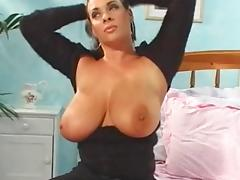 All Time Big Tit Legend With Nice Hairy Pussy