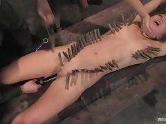 Nazi officer strapon fucks that lusty military sex slave