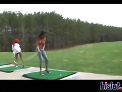 Patricia moans real loud while fucking outdoors