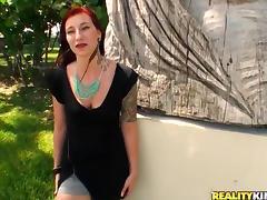 Marvellous Lillian Feirah Wearing Sexy Lingerie Goes Hardcore In Public