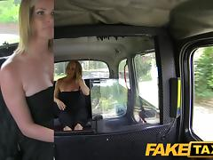 FakeTaxi: Married woman makes up for pissing on taxi seats
