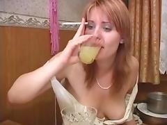 Russian dykes enjoying some feminine love