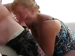 Mature Swinger Wife Deepthroat On a Boat...