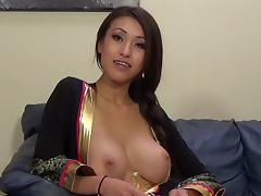 Jayden Lee gets her pussy banged and takes cumshot on her tits